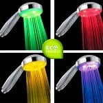 Top Kitchen Gadgets - LED Shower Head 7 Colour Lights Disco