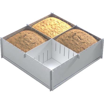 Multi Size Square Cake Pan